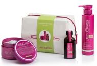 Набор фисташковый Jenoris Pistachio Gift Set шампунь 250 мл+ маска 250мл+масло 50 мл 550 мл: фото