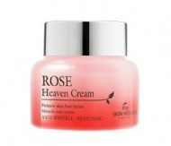 Крем для лица с экстрактом розы THE SKIN HOUSE Rose heaven cream 50 мл: фото