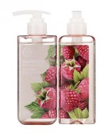 Гель для душа с малиной THE FACE SHOP Raspberry body wash 300 мл: фото