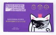 Патчи для глаз гидрогелевые ETUDE HOUSE Mystery Cat Black Hydrogel Eye Patch: фото