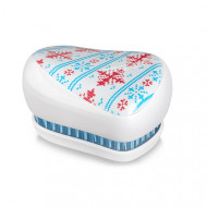 Расческа TANGLE TEEZER Compact Styler Winter Frost белый: фото