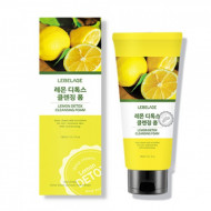 Детокс-пенка для умывания с лимоном LEBELAGE, 180мл: фото