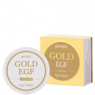 Патчи для глаз с золотом PETITFEE Premium Gold & EGF Eye Patch 1,1гр*60: фото