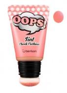 Румяна-тинт для лица Berrisom OOPS Tint Cheek Cushion Cream Peach 20мл: фото