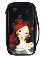 Косметичка FASCY PUNGSEON Tina PU Beauty Pouch (black): фото