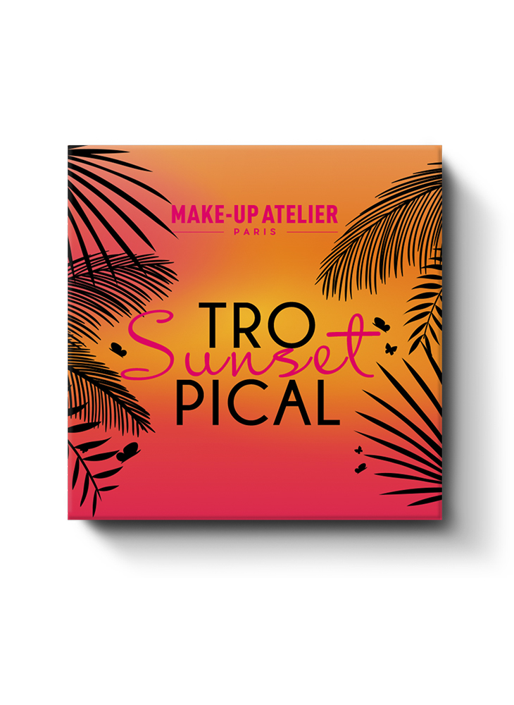 КОСМЕТИЧЕСКИЙ НАБОР MAKE-UP ATELIER PARIS TROPICAL SUNSET: фото