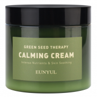 Успокаивающий крем-гель для лица с экстрактами зеленых плодов EUNYUL GREEN SEED THERAPY CALMING CREAM, 270g: фото