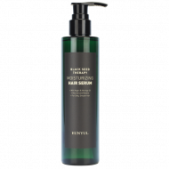 Увлажняющая сыворотка для волос с маслом арганы и моринги EUNYUL BLACK SEED THERAPY MOISTURIZING HAIR SERUM, 200ml: фото