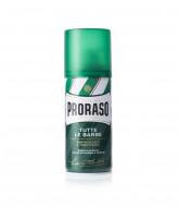Пена для бритья освежающая Эвкалипт PRORASO Green 50 мл: фото