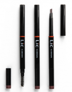 Карандаш механический для бровей с треугольным грифелем Lic Mechanical eyebrow pencil 04 Brown: фото