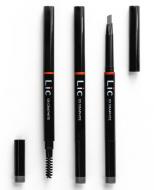 Карандаш механический для бровей с треугольным грифелем Lic Mechanical eyebrow pencil 03 Graphite: фото